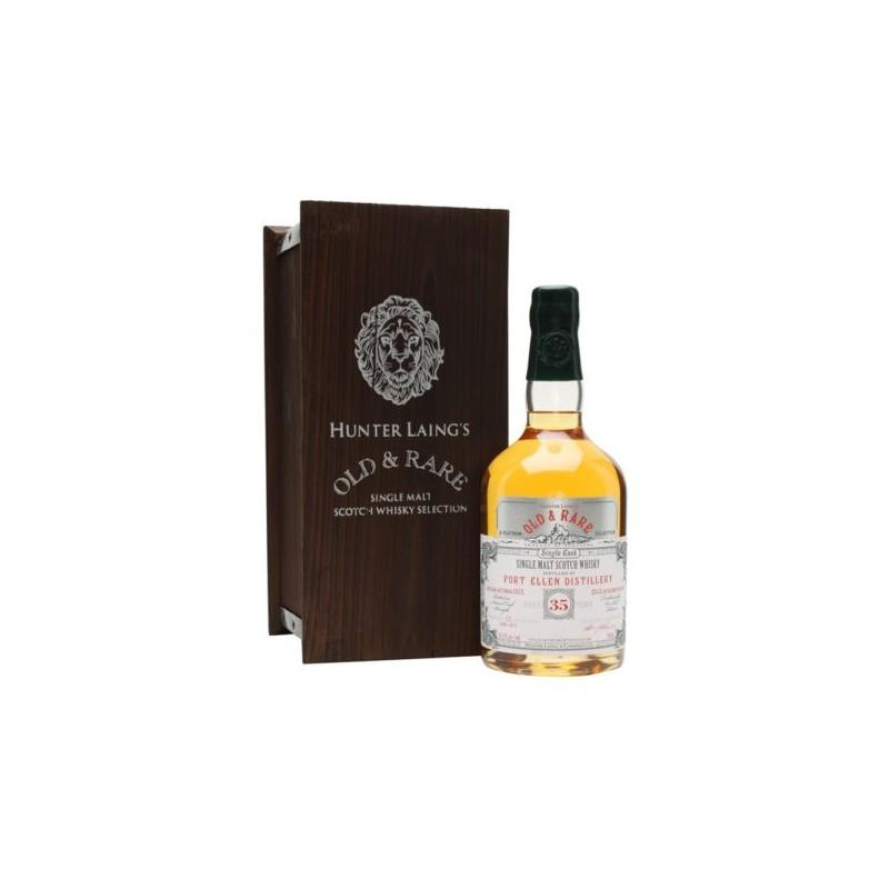 Port Ellen 35 ans - Single Cask - Single Malt Scotch Whisky OLD AND RARE - 1