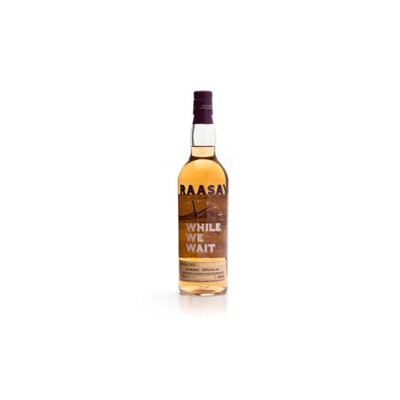 While We Wait - Single Malt Scotch Whisky RAASAY & BORDERS DISTILLERS - 1