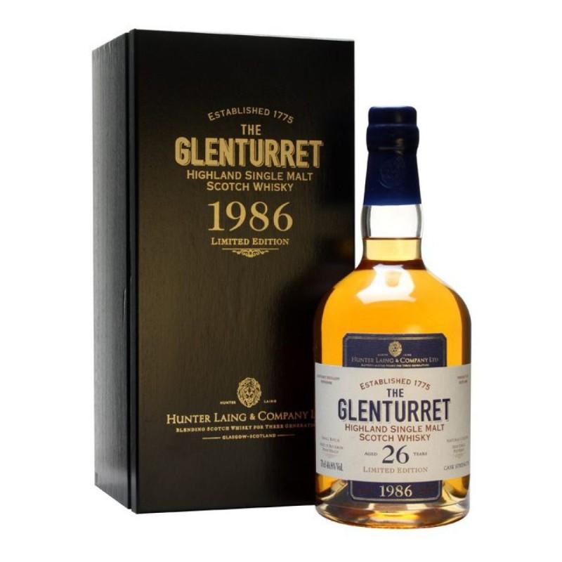 Glenturret 26 ans - Single Cask - Single Malt Scotch Whisky OLD AND RARE - 1