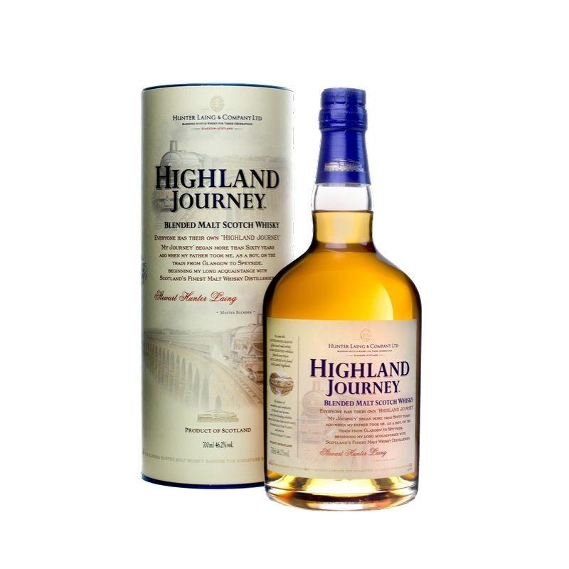 Highland Journey - Blended Malt Scotch Whisky HUNTER LAING - 1
