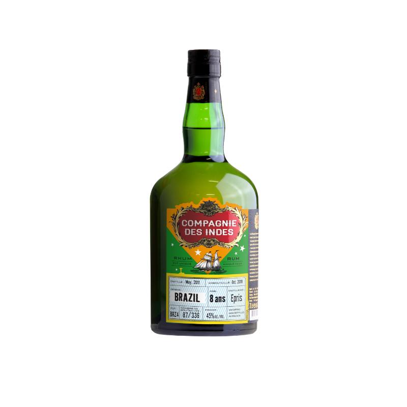 Single Cask Rhum Vieux Brazil Epris - 8 ans COMPAGNIE DES INDES - 1