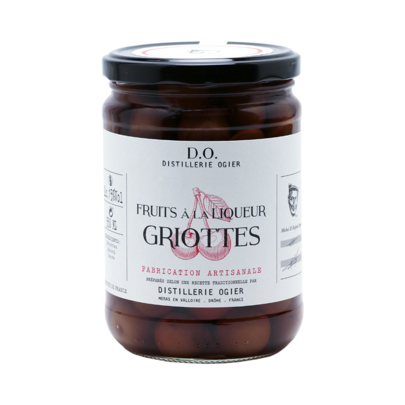 FRUITS À LA LIQUEUR - GRIOTTES - 550ML DISTILLERIE OGIER - 1