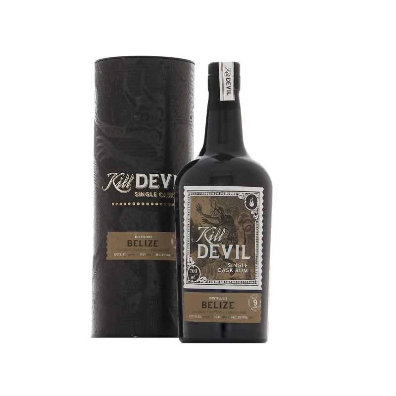SINGLE CASK RHUM VIEUX - BELIZE TRAVELLERS DISTILLERY - 9 ANS KILL DEVIL - 1