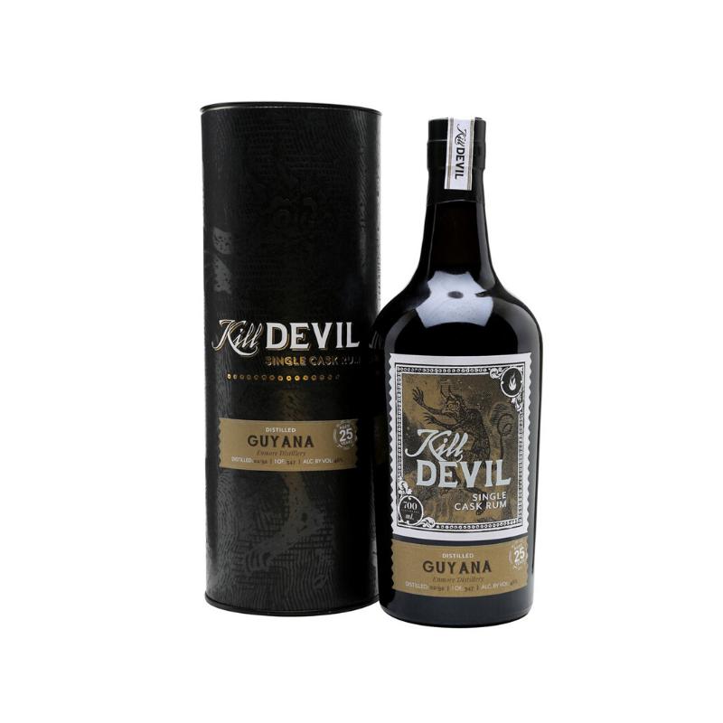 SINGLE CASK RHUM VIEUX - GUYANA ENMORE DISTILLERY - 25 ANS KILL DEVIL - 1
