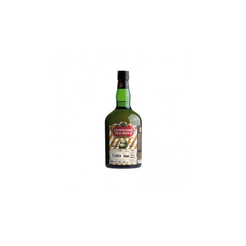 Single Cask Rhum Vieux Florida - Finition whisky français, 14 ans - 44° COMPAGNIE DES INDES - 2