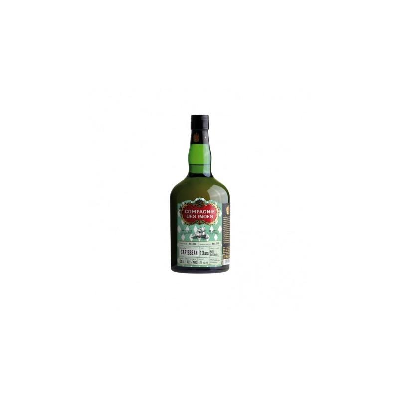 Single Cask Rhum Vieux Caribbean Multi Distilleries - 10 ans COMPAGNIE DES INDES - 2