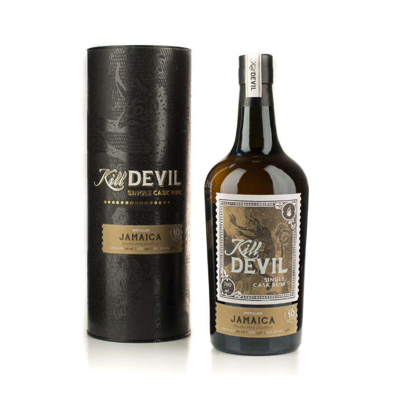 SINGLE CASK RHUM VIEUX - JAMAICA WORTHY PARK DISTILLERY 10 ANS KILL DEVIL - 1