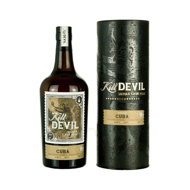 SINGLE CASK RHUM VIEUX - CUBA SANCTI SPIRITUS DISTILLERY - 18 ANS KILL DEVIL - 2