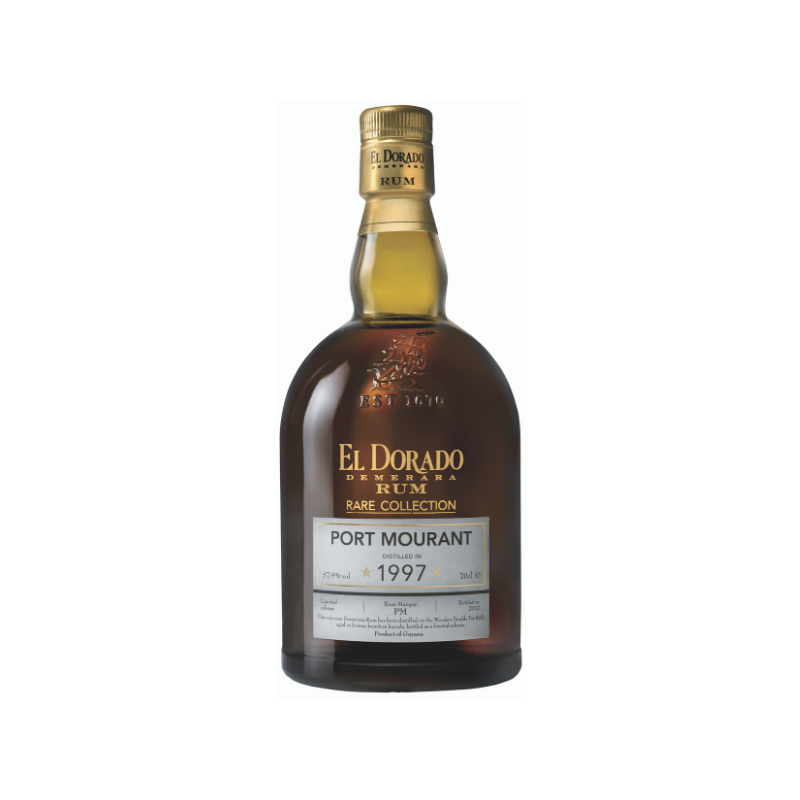 RHUM VIEUX - PORT MOURANT 1997 - RARE COLLECTION GOLD  - 1