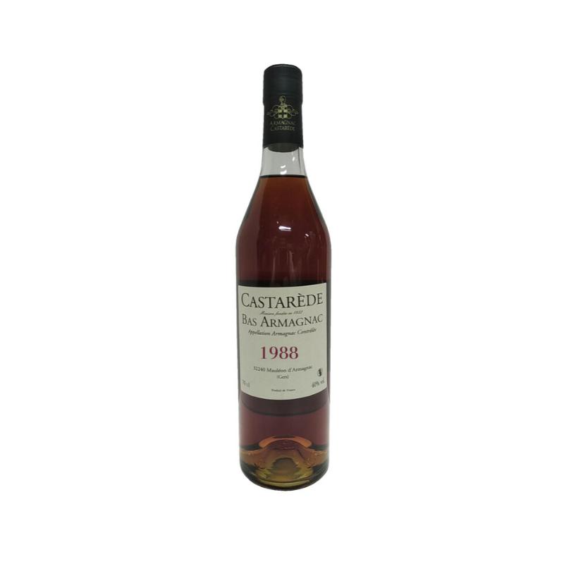 BAS ARMAGNAC - MILLESIME 1988 CASTAREDE - 1